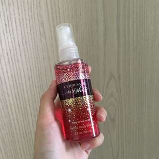 "Bath and body works ""a thousand wishes"" fragrance mist"
