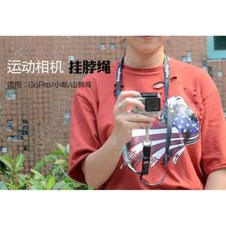 原廠品質 吊繩 掛繩 脖子 4K 4K+ 運動相機 小蟻 gopro hero4 hero5 hero 山狗 sjcam