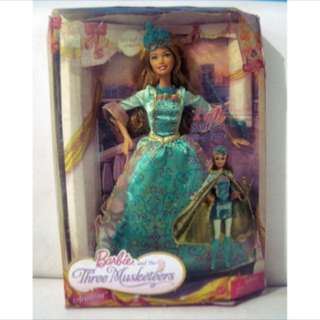 #jualmainan Barbie And The Three Musketeers Rare Item