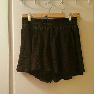 TBags LOS ANGELES Crochet Shorts