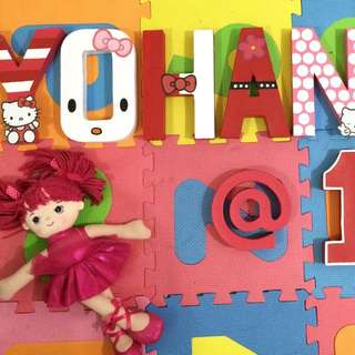 HAND PAINTED LETTER STANDEE