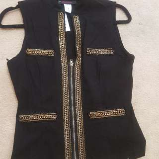 Black Jewel Vest