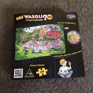 Mini WASGIJ Puzzle