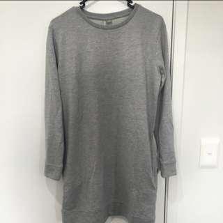 Asos jumper dress with pockets
