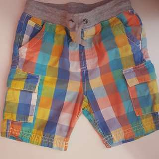 Mothercare Boys Cotton Shorts