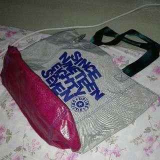 Original / Authentic Kipling Shoulder Hobo Bag With Sling