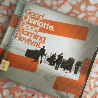 Buy2Free1: GOOD CHARLOTTE Good Morning Revival (Original CD)