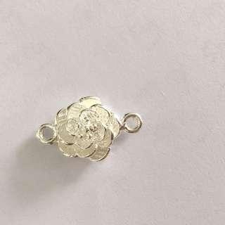 925純銀花朵