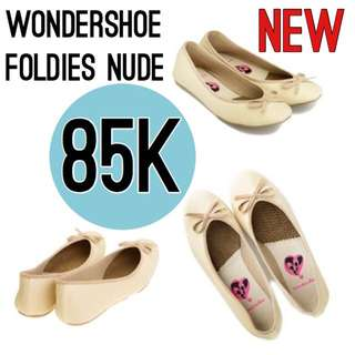 Wondershoe Foldies In Nude