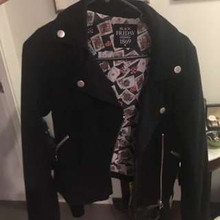 Black Friday Wool Jacket