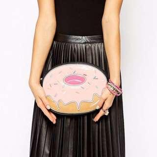 英國品牌NEW LOOK甜甜圈鏈包