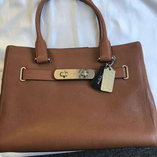 Authentic Coach Swagger Carryall Bag