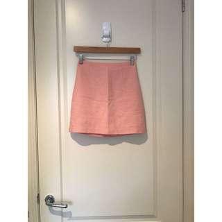 Sportsgirl Pink Skirt Size 6