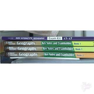 geog exam kit 有notes加練習