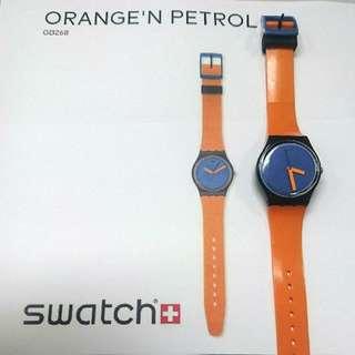 SHINee 代言 swatch 手錶(溫流同款)
