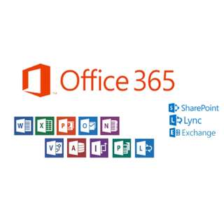 1-Year Office 365 Premium 2 with FREE 1-year .com / .com.hk domain name 網名