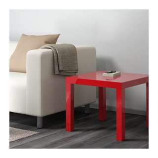 FREE red side table