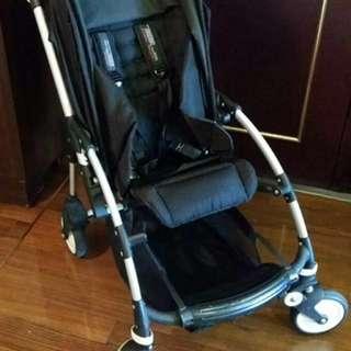 『超好物』荷蘭 bugaboo Bee 四輪避震雙向嬰兒折疊手推車 (黑色)