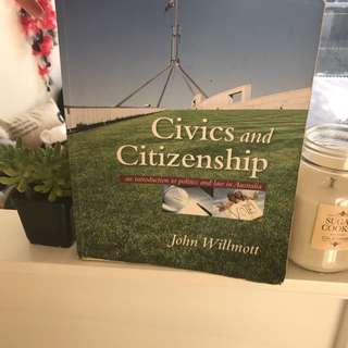Civics and Citizenship: an introduction to politics and law in Australia
