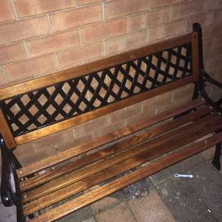 2 refurbished benches