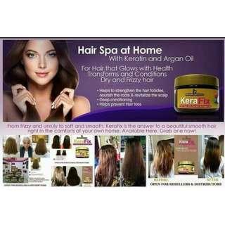 KeraFix Hair Spa with Keratin and Argan Oil