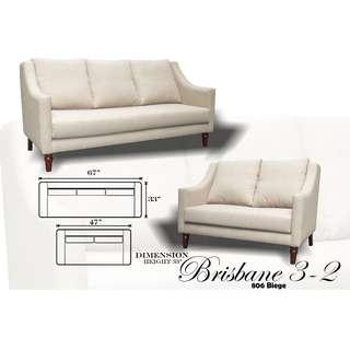 Brisbane 3-2 Uratex Foam Sofa Set Sala Set