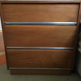 Large Bedside Drawers X2