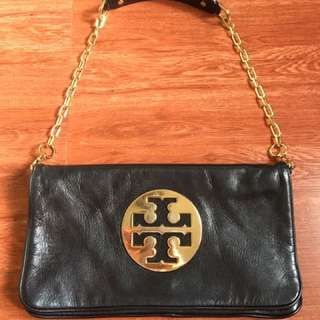 Pre-loved Authentic Tory Burch Reva Clutch