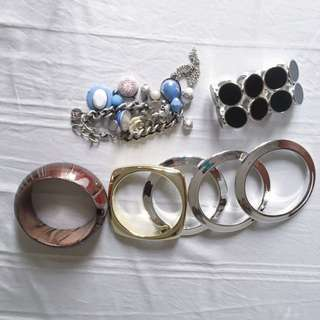 Take all bracelet and bangle