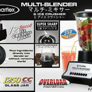 Imarflex Blender 12 Speed Buttons