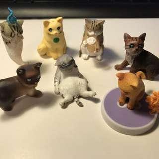 動物扭蛋 - 貓 7 款