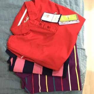 三件名牌運動polo衫組合包