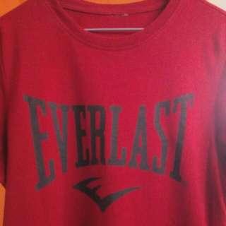 Everlast Red T-shirt