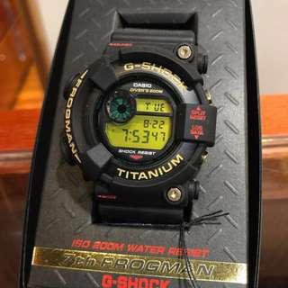 很新 日產 二代蛙 七週年限定 CASIO G-SHOCK DW-8201NT-1JR DW-8200