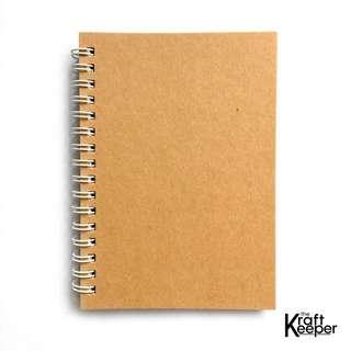 A6 Spring Notebook