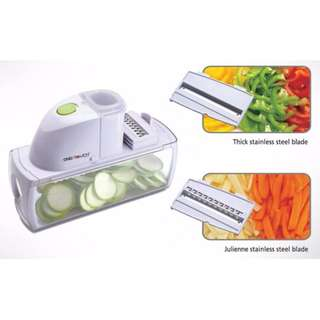 One Touch Deluxe Vegetable Slicer