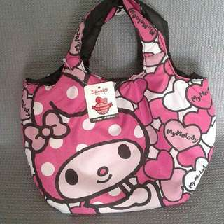 """Original Hello Kitty Lunch/Kikay Bag 11"""" Width 11"""" Height Including Handle. 4 """" From Handle To Body Of Bag"""
