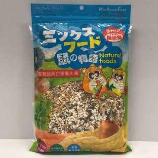 鼠的物語 寵物鼠綜合營養主食 高鈣精選配方 藍色 (1kg)