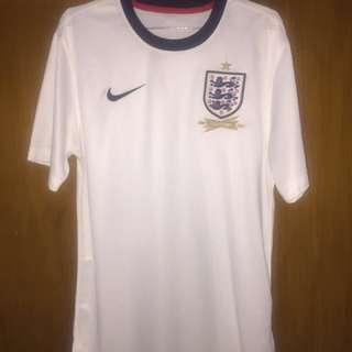 2013-2014 England Home Nike Football Shirt