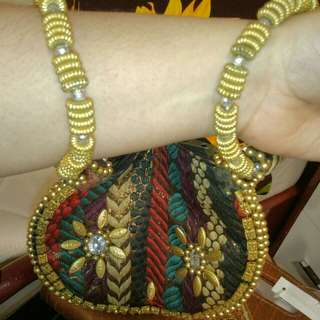 Bangladeshi Hand Stitched Traditional Wrist Bag