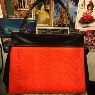 Celine Snake Leather Handbag