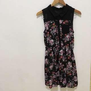 Multicolor Flower Dress