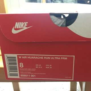 全新!Huarache Run Ultra Prm 女8