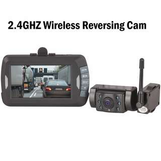 Car Cam DVR Camera kit 2.4GHZ Wireless Reversing Cam