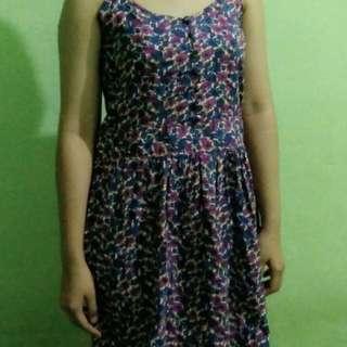 Dress Floral Purple