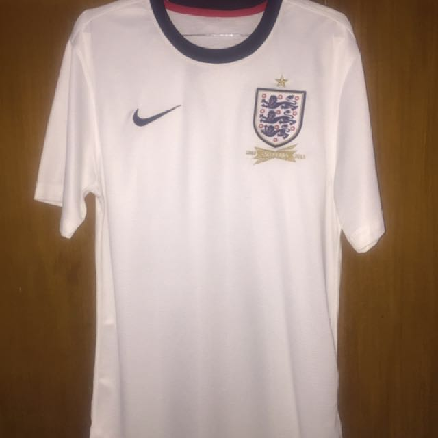 2013-2014 England Home Nike Football Shirt