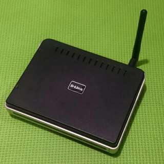 Dlink Wireless G Router (DIR300)
