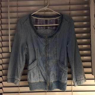 Light Denim Cover Up
