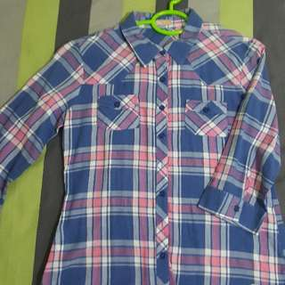 CLIFFE Checkered Blouse