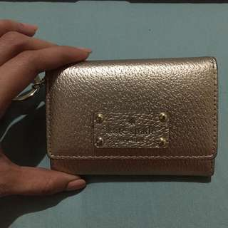 Authentic Kate Spade Key/Card Holder- Gold